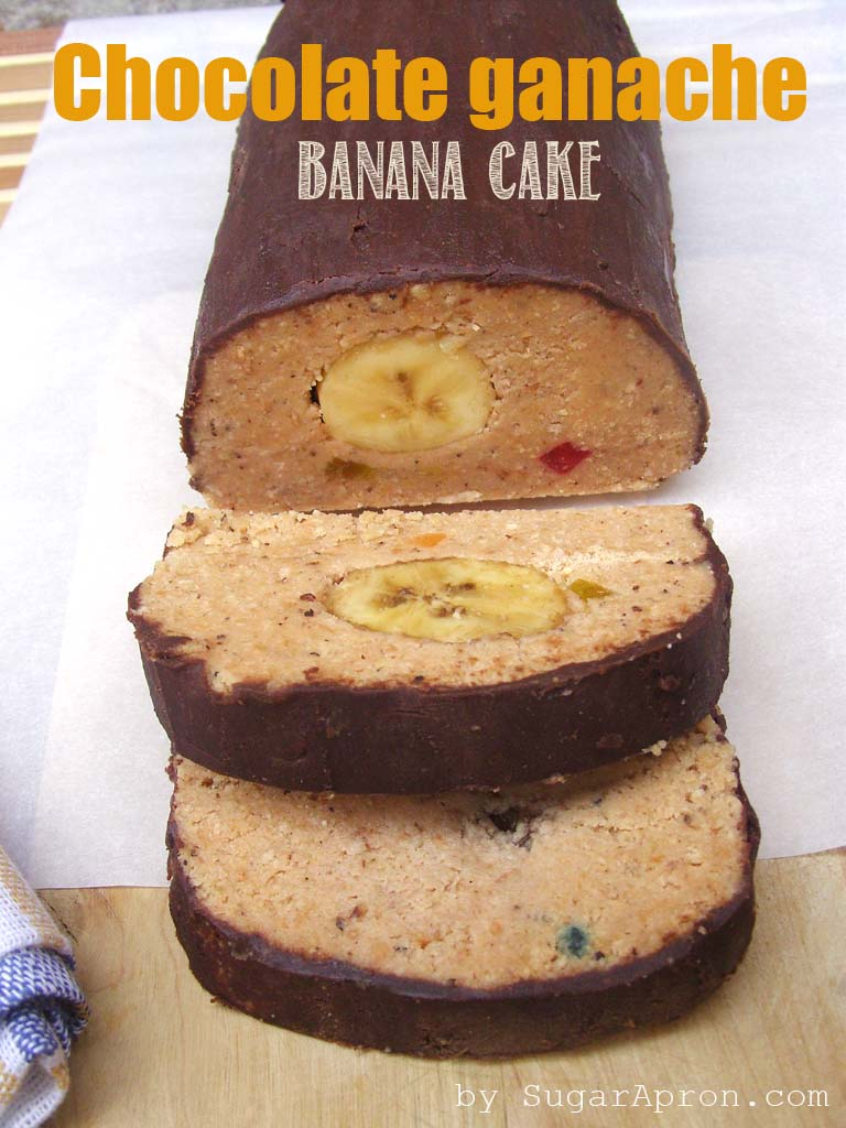 Chocolate-Ganache-Banana-Cake-Recipe