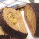Chocolate Ganache Banana Cake Recipe