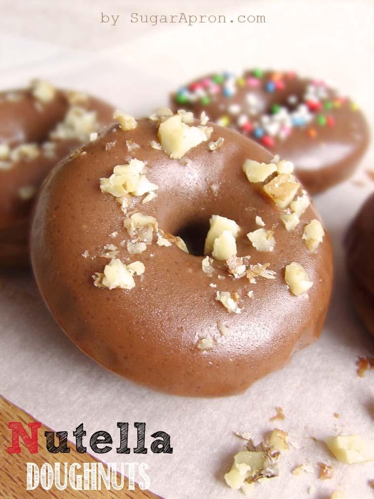 Baked-Nutella-Doughnuts