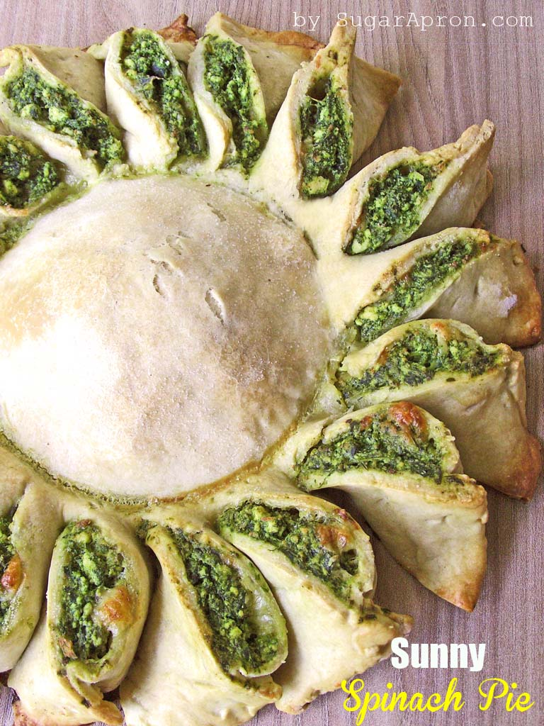 Sunny Spinach Pie Recipe