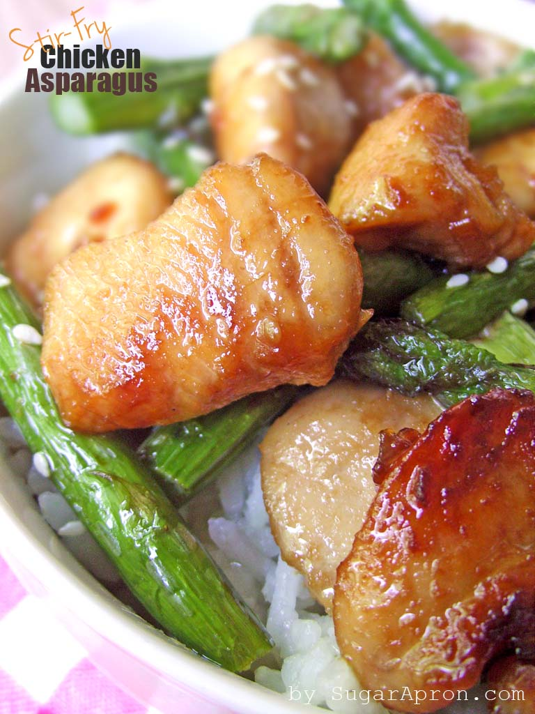 Quick Stir-Fry Chicken & Asparagus Recipe