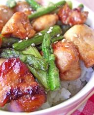 Quick Stir-Fry Chicken & Asparagus Recipe