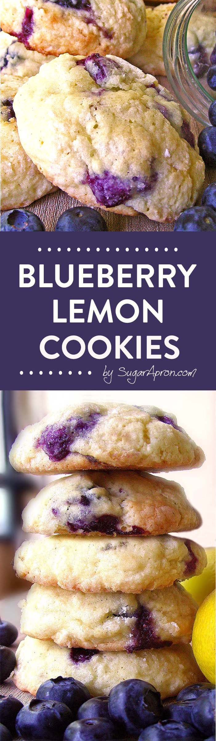 Just the Best-Ever Blueberry Cookies!!!