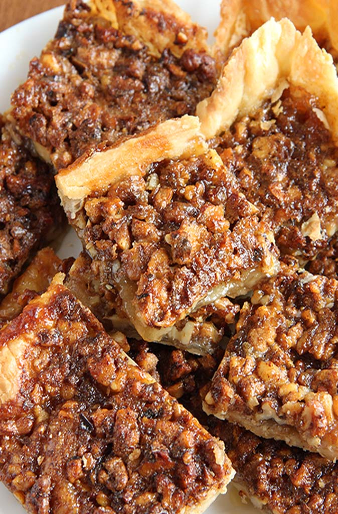 Quick Crescent Pecan Pie Bars Recipe — Dishmaps