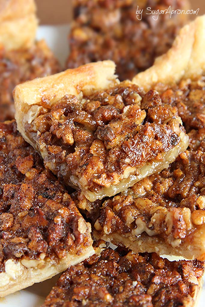Pecan Pie Bars Recipe — Dishmaps