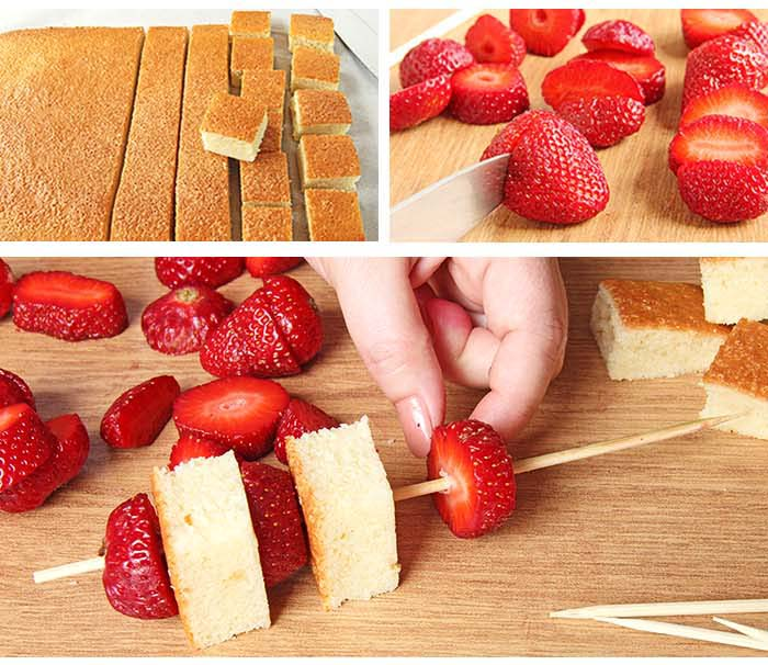 This strawberry Shortcake kabobs are your ticket to becoming a backyard-barbecue legend. perfect for 4th of July any other time you get the hankering to stick shortcake cubes and fruit on a skewer, drizzle with white chocolate and eat yourself sick.