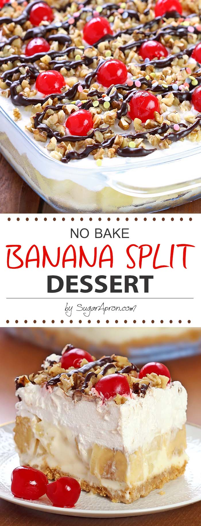 Delicious Rich And Creamy With All The Ingredients You Love In A Banana Split
