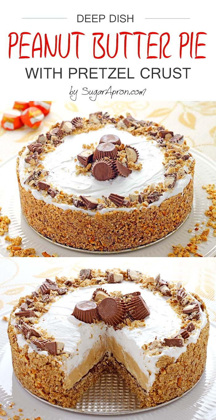 ... pretzel crust takes cookie crusted peanut butter pretzel pies recipes