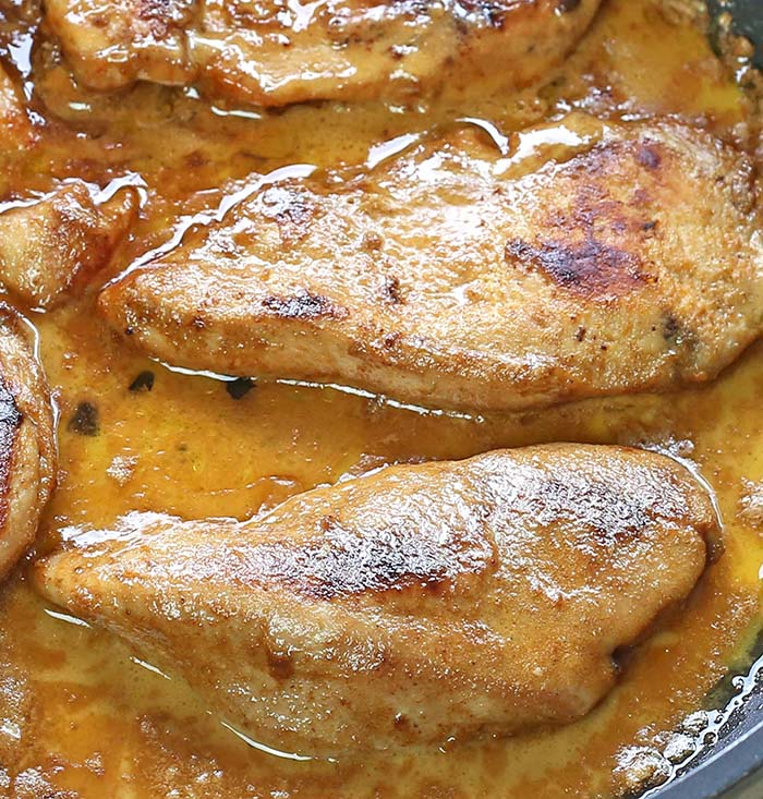 Lazone Chicken - Juicy chicken with spices in a butter and cream sauce simply calls for more.
