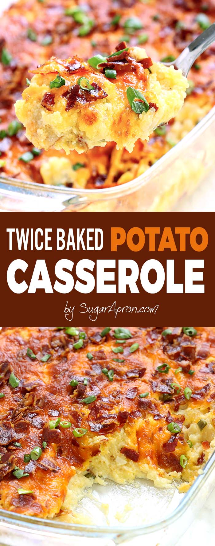 If you've been looking for the ultimate comfort food, look no further, because Twice Baked Potato Casserole has delivered the perfect combination of flavor and warmth. Just imagine your favorite potatoes being crisp, greasy, cheesy, and bacony.