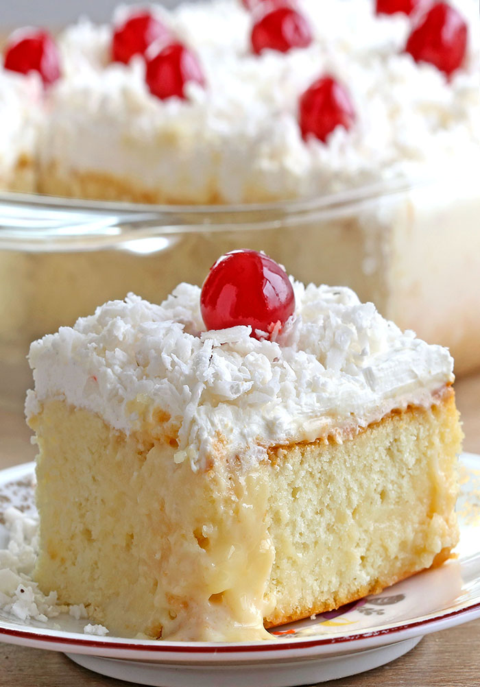 White Cake Mix Sweetened Condensed Milk