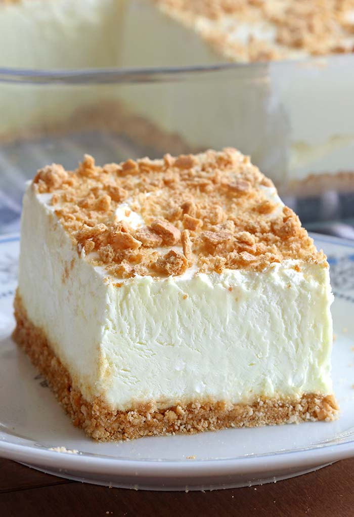 No Bake Woolworth Cheesecake is a classic, light and lemony dessert and will be the perfect addition to your Easter or Mother's Day menu!