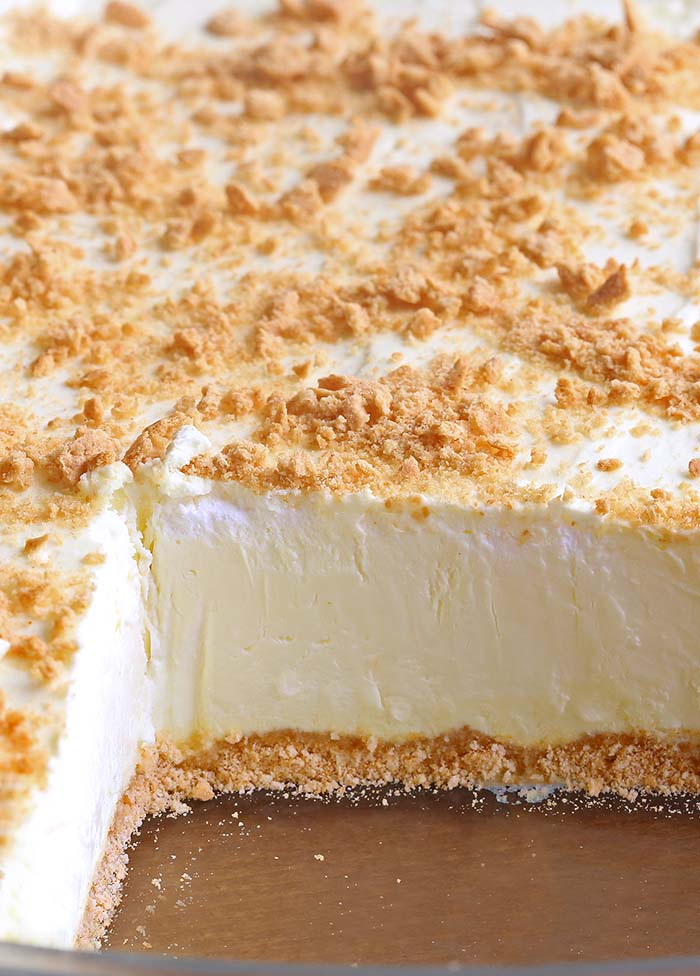 No Bake Classic Woolworth Cheesecake - Sugar Apron
