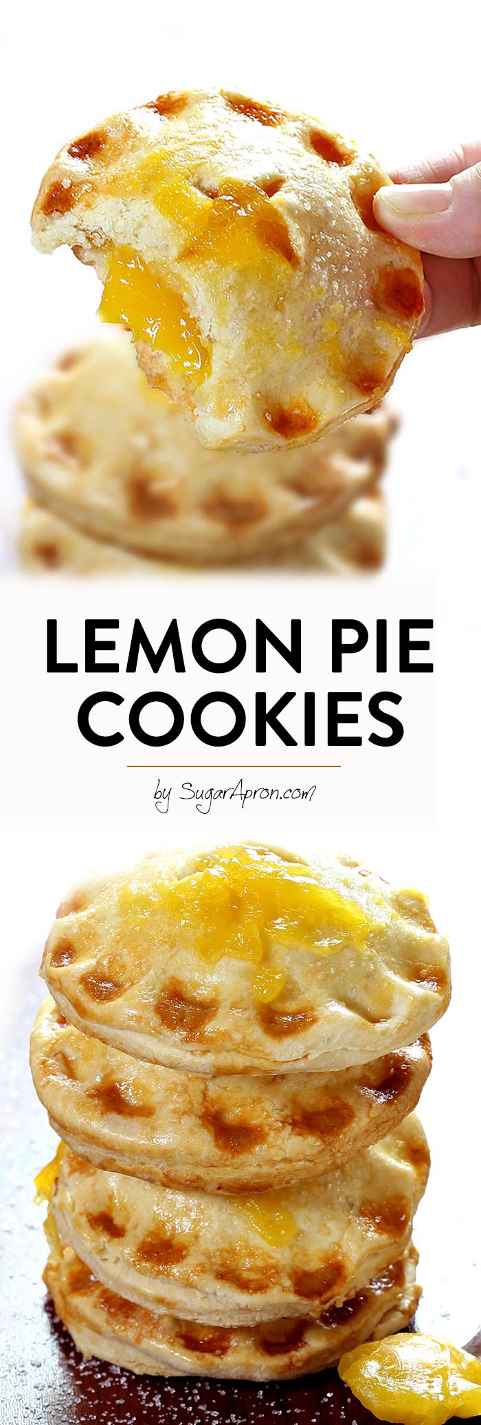 These Lemon Pie Cookies are what spring/summer dreams are made of. Simple and delicious they are sure to satisfy both your cookie and pie cravings.