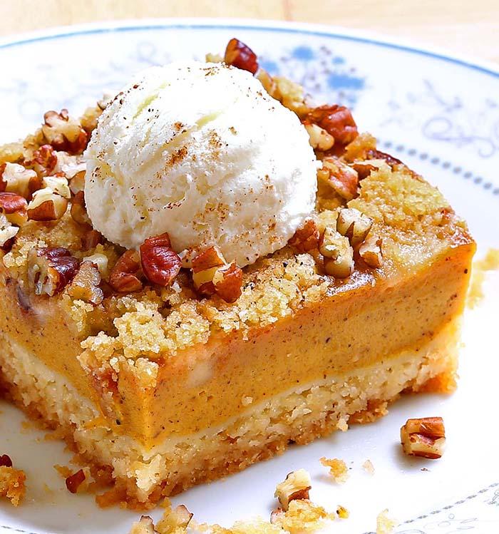 Pumpkin Pie Cake Sugar Apron