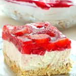 No Bake Strawberry Heaven Cake