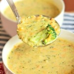 Homemade Panera Broccoli Cheese Soup